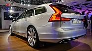 The Volvo V90 reveal