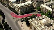 Обзор трассы будущего Гран При Баку