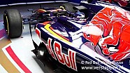 Reveil of the Scuderia Toro Rosso STR11 at Barcelona, 01/03/2016
