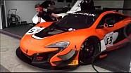 Alex Fontana sulla McLaren 650S GT3