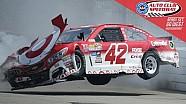 Gros crash pour Kyle Larson à Fontana