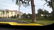 Corvette rijdt verloren in Sebring