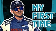 My First Time! w/ Bruno Correia - Formula E