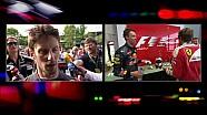 Grosse déception pour Romain Grosjean en Chine