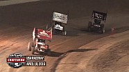 Highlights: World of Outlaws Craftsman Sprint Cars USA Raceway April 18th, 2016