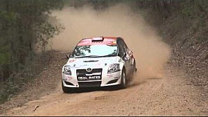 Heat 2 Highlights of Round 1 Kumho Tyre Australian Rally Championship, Quit Forest Rally, WA