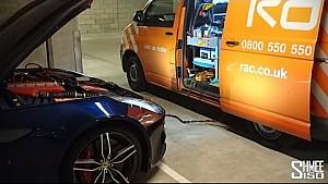 Why You Shouldn't Buy a Supercar... Flat Battery Saga