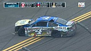 NASCAR Sprint Cup Talladega: huge crash on the final lap and finish
