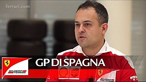 Il GP di Spagna con Diego Ioverno - Scuderia Ferrari 2016