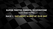 Lamborghini Super Trofeo Europe 2016, Silverstone - Live streaming Race 1