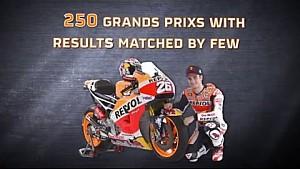Dani Pedrosa set for 250th Grand Prix appearance in Italy