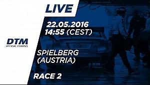 LIVE - Race 2 - DTM Spielberg 2016