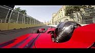 Caméra embarquée sur le Baku City Circuit