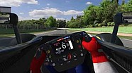 McLaren MP4-30 ile Imola'da ilk tur