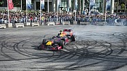 Red Bull F1 Show Run, Beirut - Carlos in action