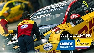 Wet quali Russia WTCC highlights with Tom Coronel 2016