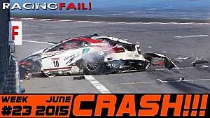Racing and Rally Crash Compilation Week 23 June 2015