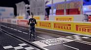 Daniel Ricciardo's Canadian Grand Prix Miniature Track Guide