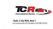 Гонка 1 TCR в Сочи