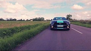 Ford Mustang leads the way for Team Sky | Tour de France 2016