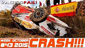 Racing and Rally Crash Compilation Week 43 October 2015