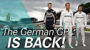 F1 returns to Germany!