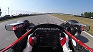 #INDYCAR In-Car Theater: Visor Cam with Graham Rahal at Mid-Ohio Sports Car Course