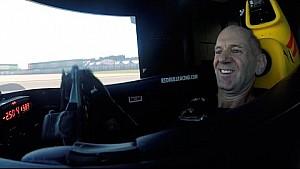 Adrian Newey in Red Bull simulator challenge