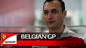 The Belgian GP with Riccardo Adami - Scuderia Ferrari 2016