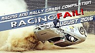 Racing and Rally Crash Compilation Week 33 August 2016