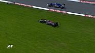 GP de Belgique - Sainz dans l'herbe, le feu pour Kimi