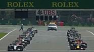 Belçika GP start ve ilk 4 turun özeti