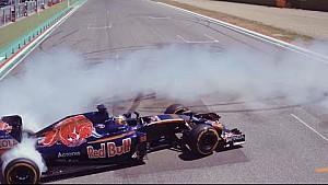 Donuts under the sun - Scuderia Toro Rosso