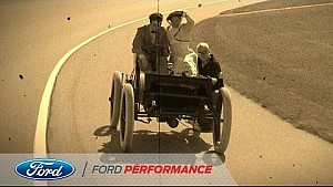 Keselowski Drives 1901 Ford Sweepstakes | NASCAR | Ford Performance