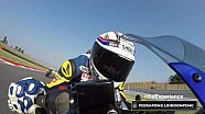 Yamaha VR46 Master Camp - Peerapong's onboard camera at Misano
