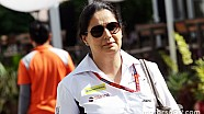 La primera jefa de equipo de la historia de la F1