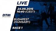 DTM Budapeşte 2016 - 1. Yarış