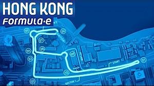 ePrix di Hong Kong: il tracciato