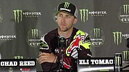 2016 Monster Energy Cup - Press Conference - Eli Tomac