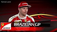 The Brazilian GP with Kimi Raikkonen - Scuderia Ferrari 2016