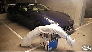 Did I Just Transport a McLaren Bumper in a Ferrari?