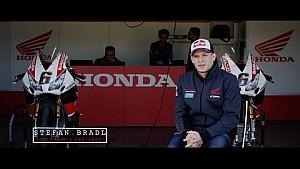 Stefan Bradl speaks of his Honda WorldSBK Team debut