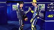 Quand Rossi rencontre Viñales