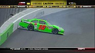 Danica Patrick and Landon Cassil Tangle - Kansas - 10/21/2012