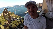 Nico's post-race blog from Monaco