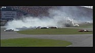 HD 2004 Daytona 500 Michael Waltrip Flip and Big One