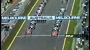 Ralf Schumacher's massive F1 crash at the Australian GP 2002