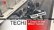 7 Days in our F1 Wind Tunnel - Time Lapse - Sauber F1 Team