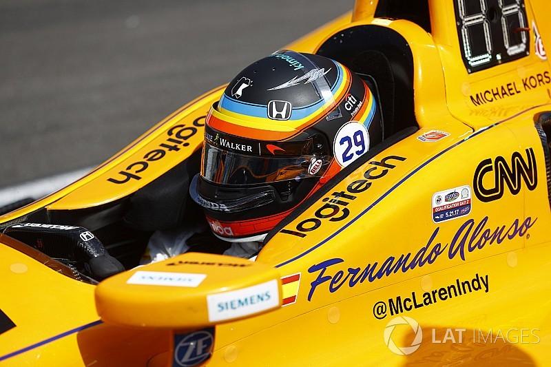 Alonso usará design do capacete da Indy 500 em Austin