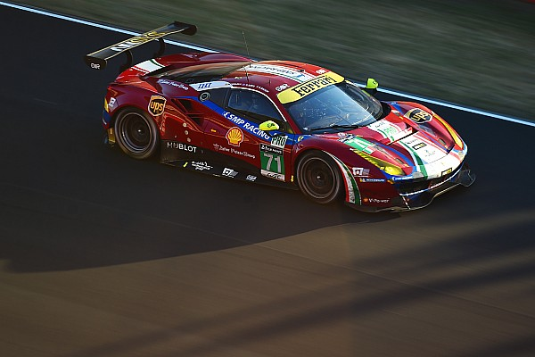 WEC Breaking news Vilander gets Bird's Ferrari seat for Nurburgring